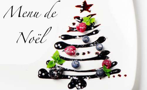 Decoration De Menu De Noel.Le Menu De Noel Restaurant Le College